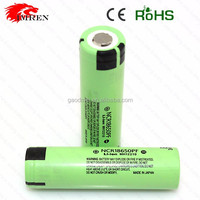 Electronic Cigarette Battery 18650 Japan NCR18650PF 3.7v 2900mah Rechargeable /3.7v icr 14500 li-ion rechargeable battery