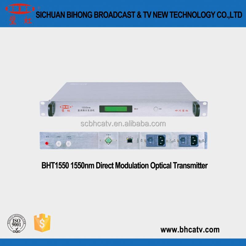Advanced laser for cable TV HFC network 1550 fiber direct modulated optical transmitter