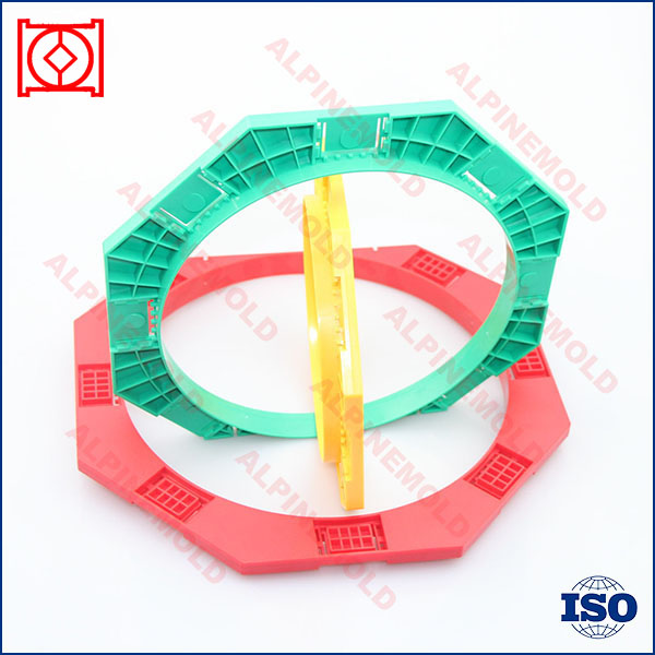 plastic injection mould making for rubber o-ring mold