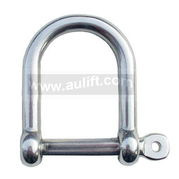 Commercial Wide D shackle