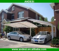 Outdoor Car Parking with Polycarbonate Roof