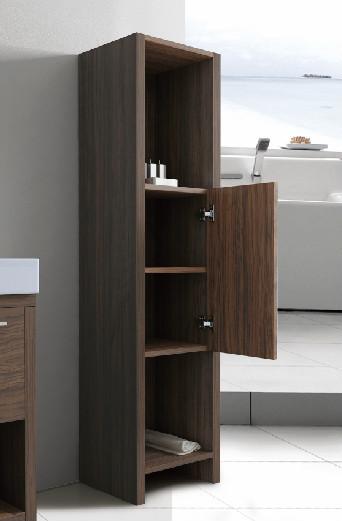 Tona black brown cabinet bathroom toilet design with mirrir cabinet side cabinet wash basin. Tona Black Brown Cabinet Bathroom Toilet Design With Mirrir