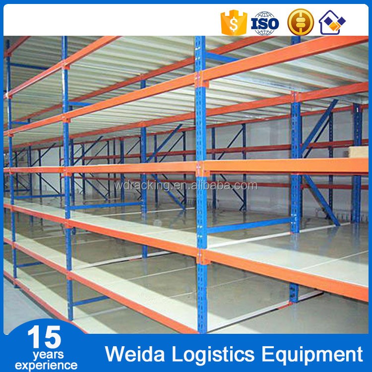 Warehouse Steel Long Span Shelving