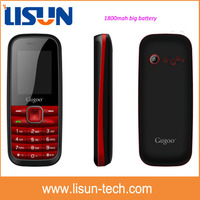 1800mah big strong battery mobile phone very cheap price made in China hot sell in Africa