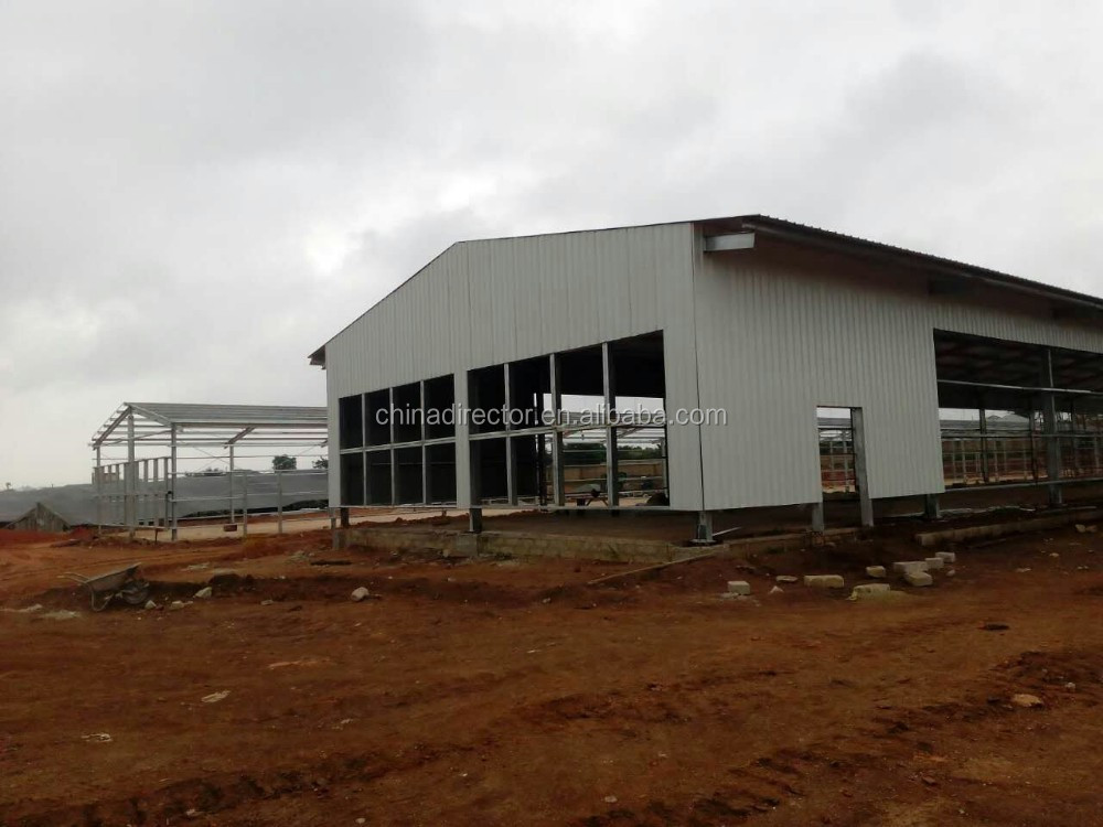 Low Cost Prefabricated Steel Structure Poultry Chicken