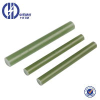 5-180mm waterproof Durable fiberglass green epoxy rod