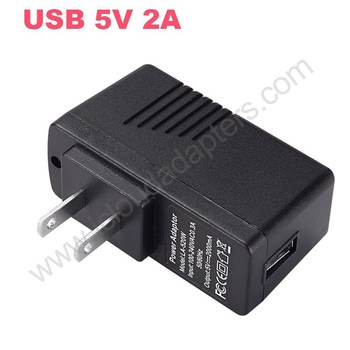 High Quality LA-520W USA Plug USB Chargers 5V 2A