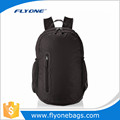 Lightweight popular solid colour custom foldable backpack bag