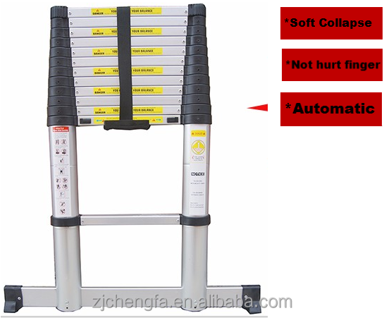 Telescopic Soft Collapse ladder