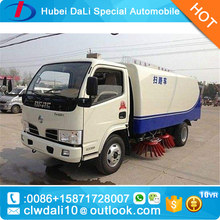 New Dustbin Street Sweeper Truck 8000liters Cleaning Vehicle/Road Sweeper Machine With Snowing Cleaning