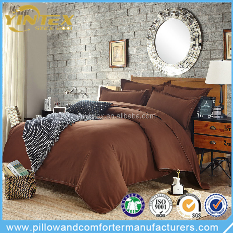 Hot sale 135gsm brushed microfiber printed bedding set/wrink free bed linen sheet