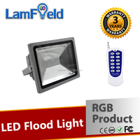 Perfect Technology 30W LED Outdoor RGB Flood Light With RF Control