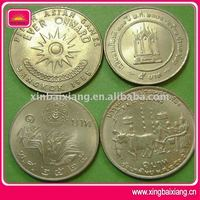 Custom antiques india style plated coins