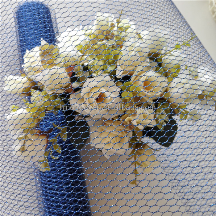 Flower wrapping mesh for home decor