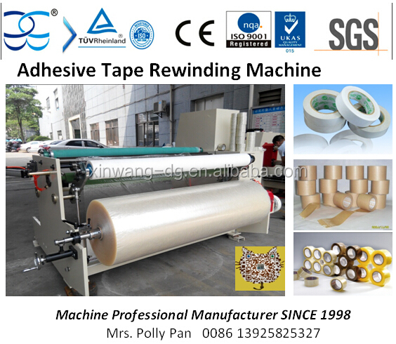 1300mm Double Sides Tape Rewinding Machine