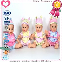 2017 New speaking fashion baby doll factory price 12 inch