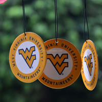 university promotional air freshener, hanging paper air perfume, customized paper car air freshener