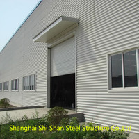 2016 High Quality Auto 4S Shop Steel Structure