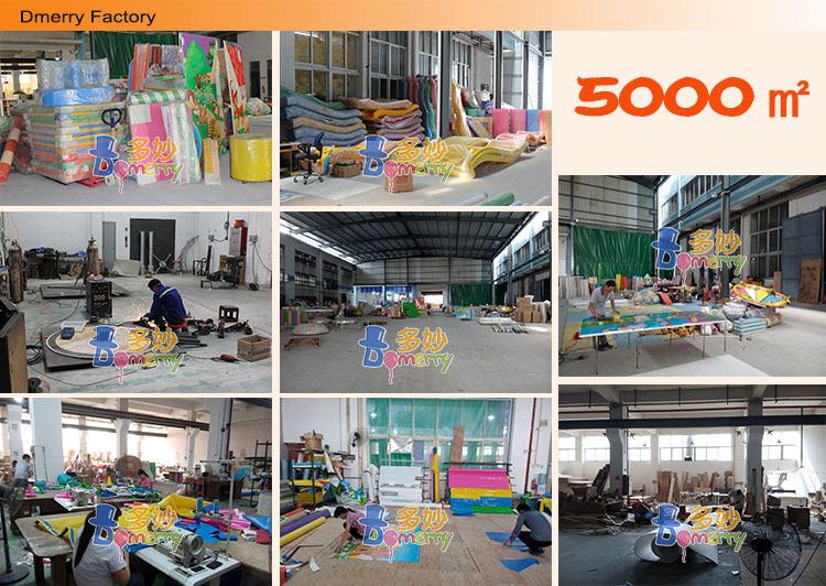 Kids high quality sponge blocks Indoor Soft Play Item, foam toy