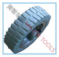 6x2 small rubber tyre pneumatic pram wheel