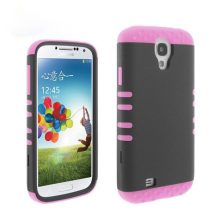 Wholesale for samsung s4 case for girl,Fashion hybrid combo kickstand case for samsung s4