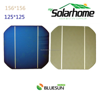 cheap monocrystalline polycrystalline solar photovoltaic cell for sale 125 156