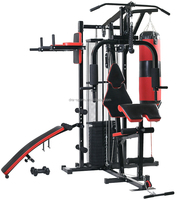 2019 hot sell body building Factory direct supply gym equipment Multi Jungle 4 Station Home Gym