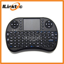 High quality cheap price rii mini keyboard Spanish with touchpad remote control