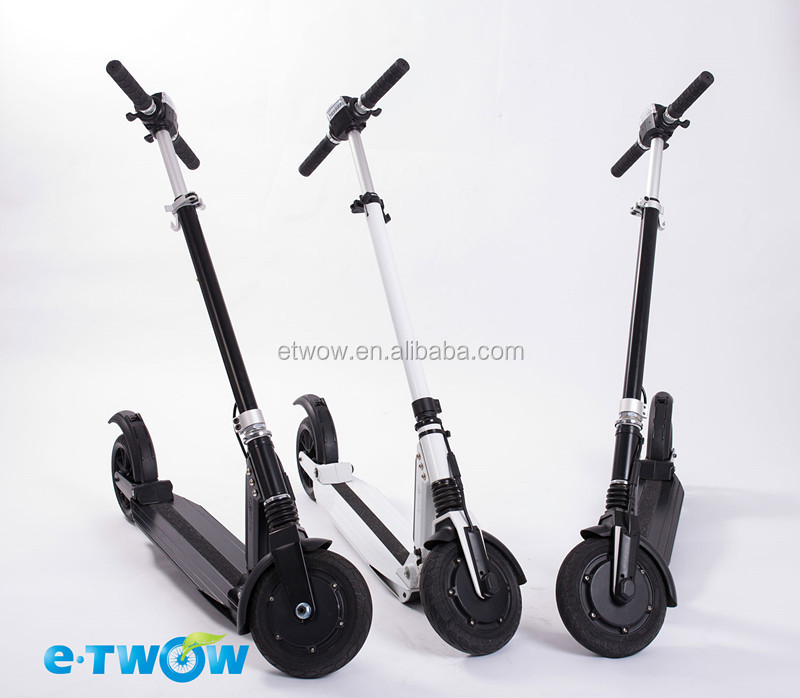 e-twow green power patented electric kick scooter for adults