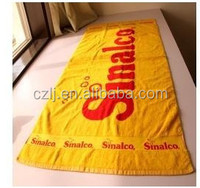 wholesale custom microfiber double sides Euro printed beach towels