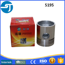 4-stroke water cooled diesel engine parts S195 piston assy