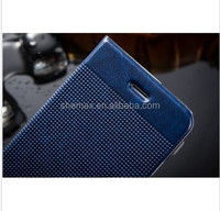 Premium oil wax pu leather phone case for iphone 6,leather back cover case