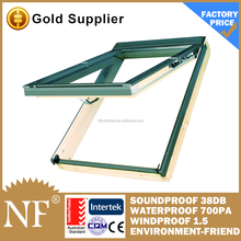 top hinged roof window for skylight
