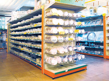 double sided supermarket <strong>shelves</strong>