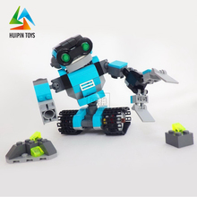 best high quality play fun blocks robot toys for adults with light