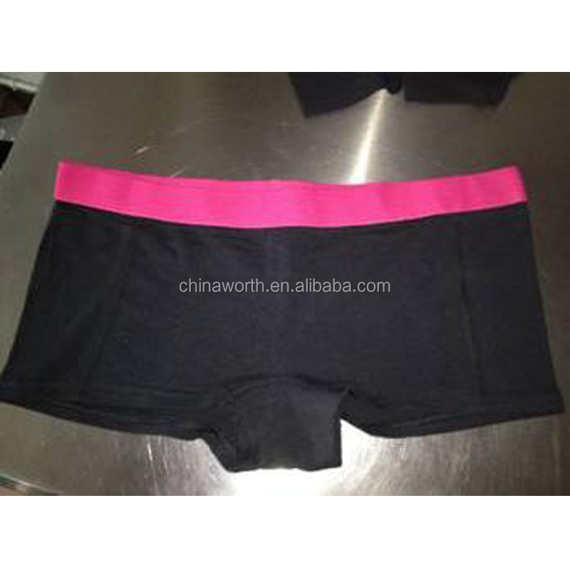women plain boxers underwear stock surplus