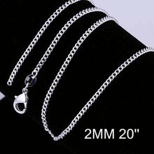 New simple design factory price 925 silver chain silver waist chain CC015-20