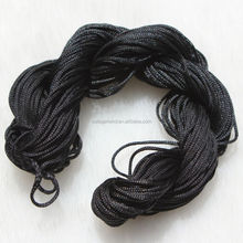 Wholesale 1 / 1.5MM Colors Chinese Knot Braiding Cord Nylon Beading String for Jewelry Making