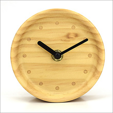 wooden standing small table top kids clock(TC-32B)