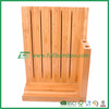 2015 high quality bamboo knife block