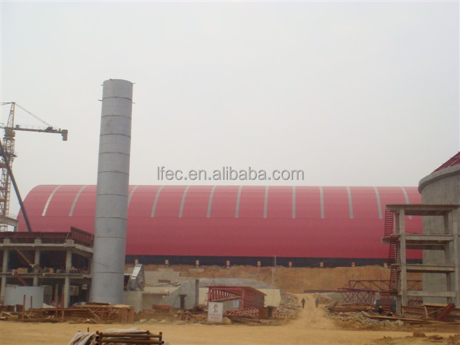 Professional Design space frame ball for limestone storage