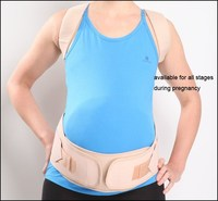 CE FDA Approved Maternity Back Support Brace/ Adjustable Pregnancy Support Belt for Waist Support