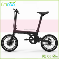 2017 The Best Price The Lightest 2 Wheels Electric Aluminum Alloy E Bike
