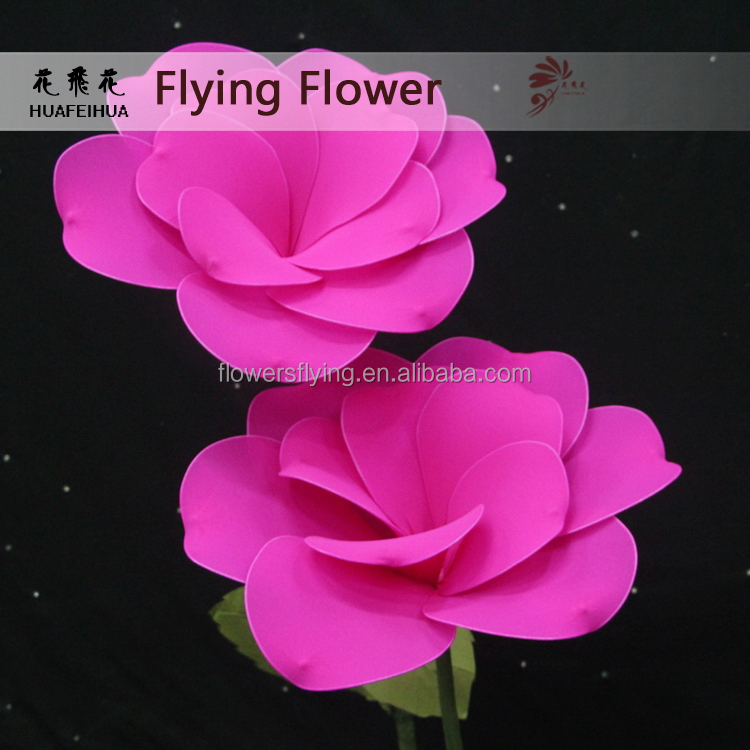 Long service life super quality silk flower giant artificial flower