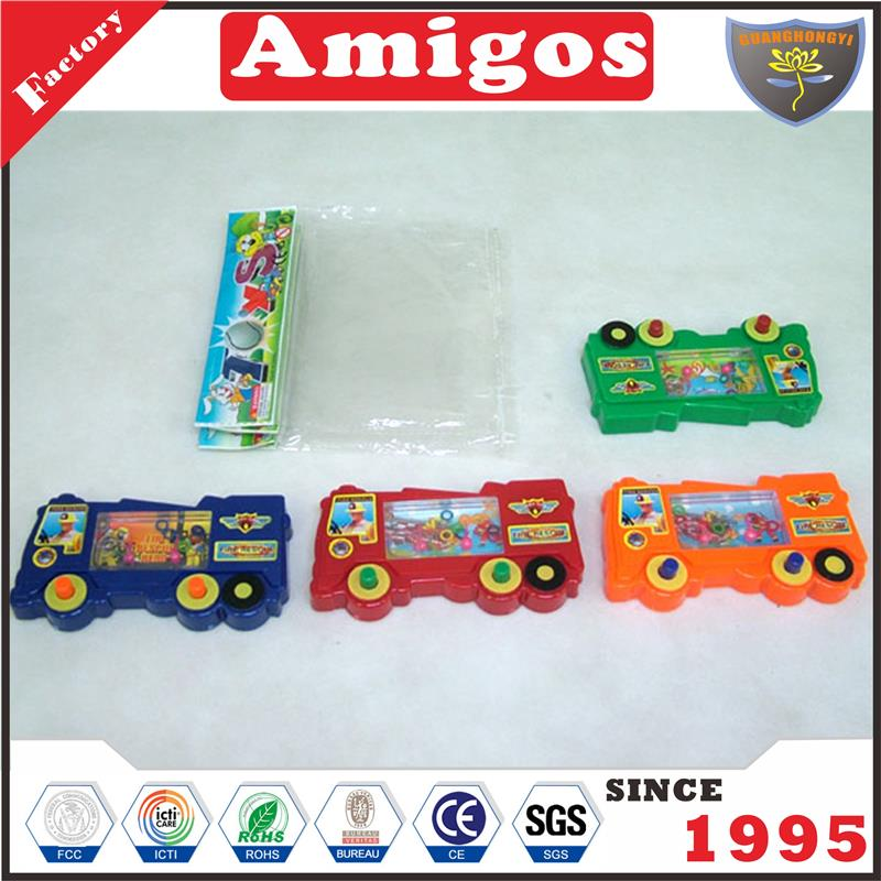 brand Water toys fire truck red/orange/blue/green water game toy for child