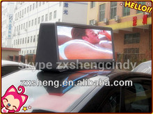 Digital Full Color 3G GPS Worldwide Quality LED Taxi Top Advertising