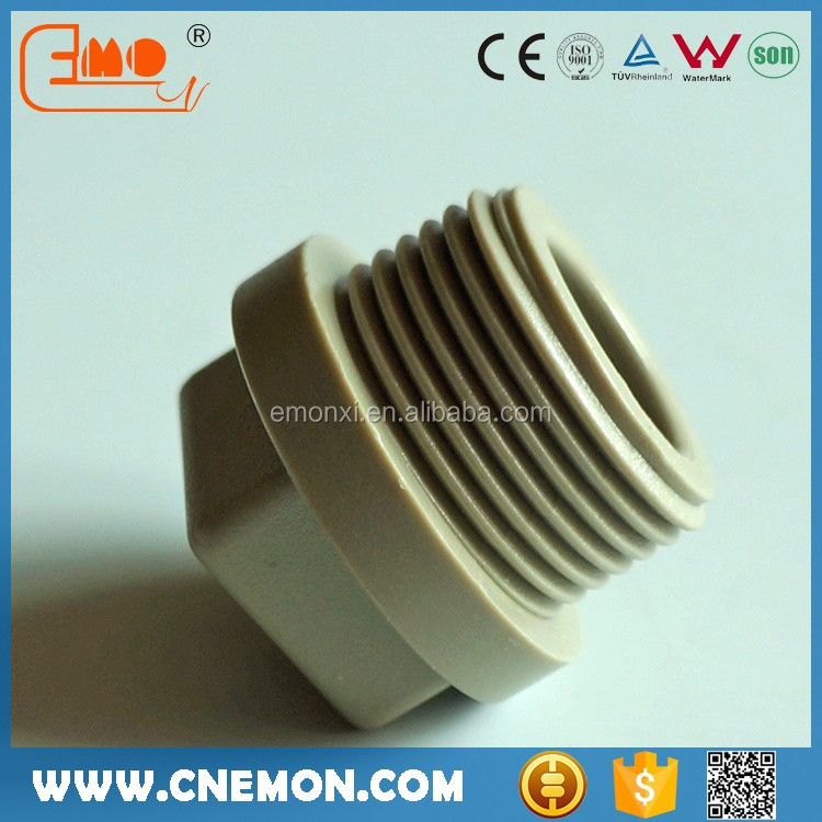 PPR Plastic Fitting Male Threaded Pipe Plug