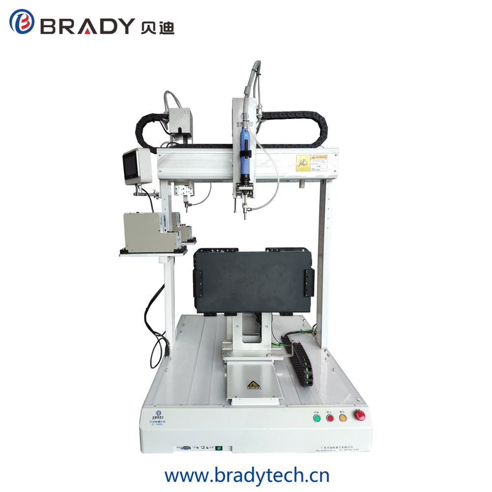 Brady Automatic floor type screw tightening robot and screw locking machine with big working range which can lock big product