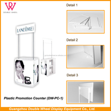 Portable Promotional Display Counter, Coffee Shop promotion table