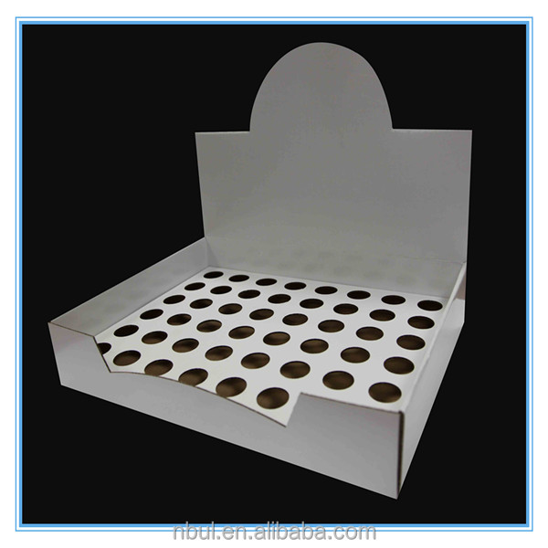 Ecofriendly pop paper display box widely use the china supplier